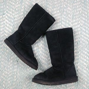 UGG Black Classic Tall Boot.  Size 8